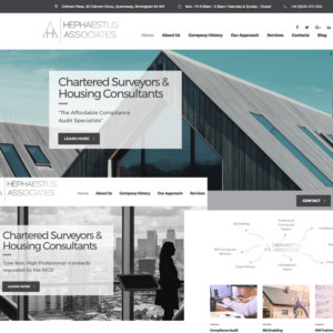 Hephaestus Associates - Chartered Surveyors & Housing Consultants - the-seo Case Study Image