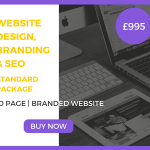 10-Page Website Design, Branding & SEO Standard Package