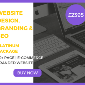 20 Plus+ Page Website Design, Branding & SEO Platinum Package