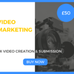 1 x Video Creation & Submission Marketing Package £50