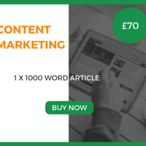 Content Marketing - 1 x 1000 Word Article - £70