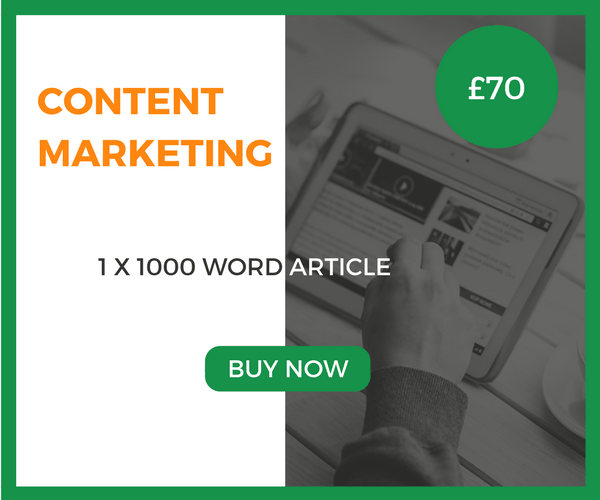 Content Marketing – 1 x 1000 Word Article