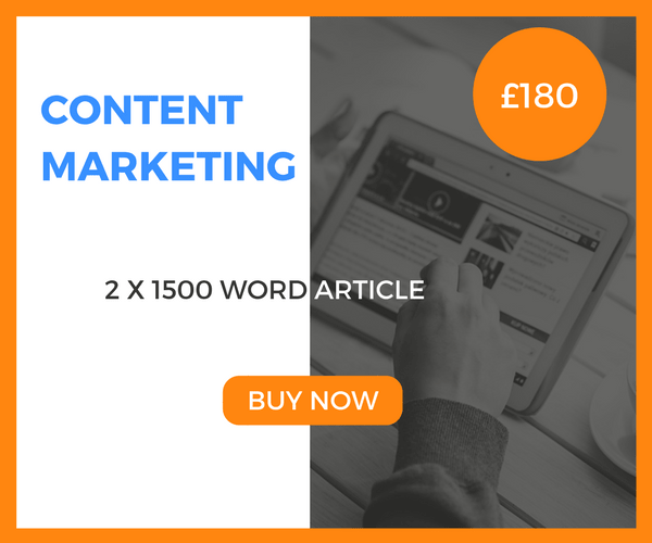 Content Marketing – 2 x 1500 Word Article