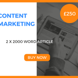 Content Marketing - 2 x 2000 Word Article - £180