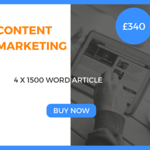 Content Marketing - 4 x 1500 Word Article - £340