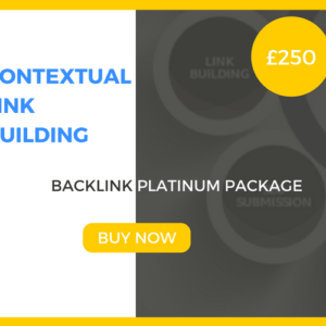 Contextual Link Building - Backlink Platinum Package - £250