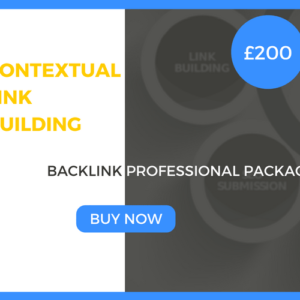 Contextual Link Building - Backlink Professional Package - £200