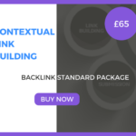 Contextual Link Building - Backlink Standard Package - £65