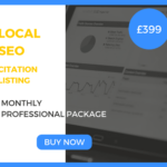 Local SEO Professional Package - £399