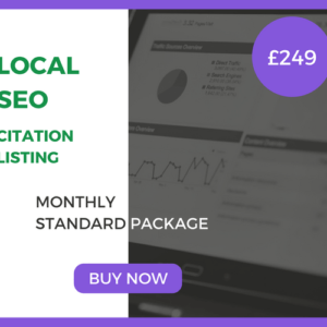 Local SEO Standard Package - £249