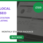 Local SEO Starter Package - £189