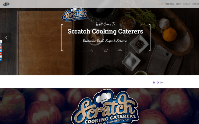 the-seo - Scratch Cooking Caterers Web Slider Image