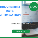 Conversion Rate Optimisation - Standard Package - £1000 Per Month