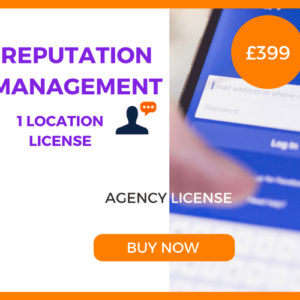Reputation Management - Agency License - £399 Per Month