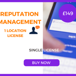 Reputation Management - Single License - £149 Per Month