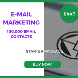 E-Mail Marketing - 100,000 Emails - Starter Package - £449