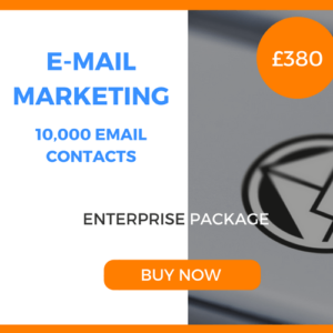 E-Mail Marketing - 10,000 Emails - Enterprise Package - £380