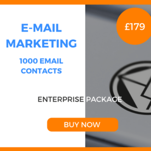E-Mail Marketing - 1000 Emails - Enterprise Package - £179