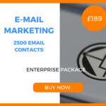 E-Mail Marketing - 2500 Emails - Enterprise Package - £189