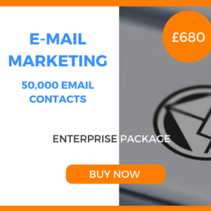 E-Mail Marketing - 50,000 Emails - Enterprise Package - £680