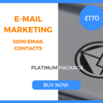 E-Mail Marketing - 5000 Emails - Platinum Package - £170