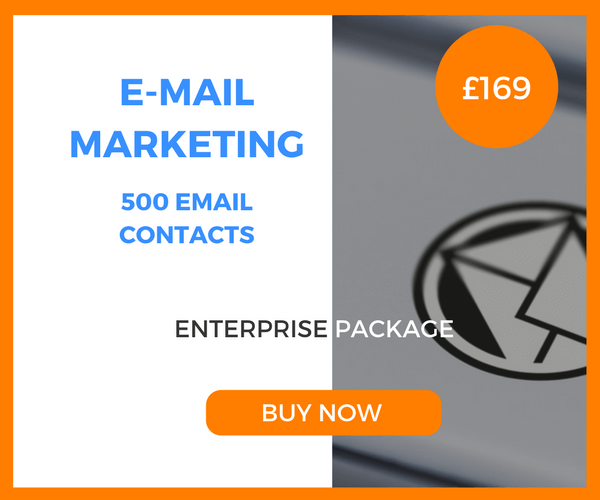 E-Mail Marketing - 500 Emails - Enterprise Package - £169