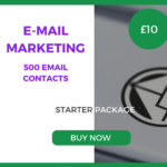 E-Mail Marketing - 500 Emails - Starter Package - £10
