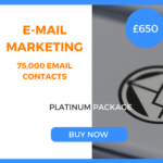 E-Mail Marketing - 75,000 Emails - Platinum Package - £650