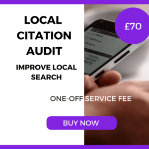 Local Citation Audit - One-Off Service £70