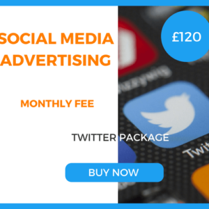 Social Media Advertising - Twitter Package £120 Per Month