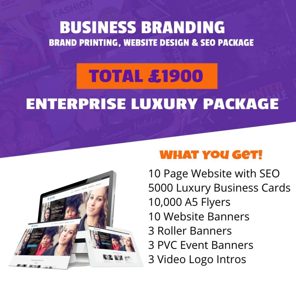 Enterprise Luxury Branding Package