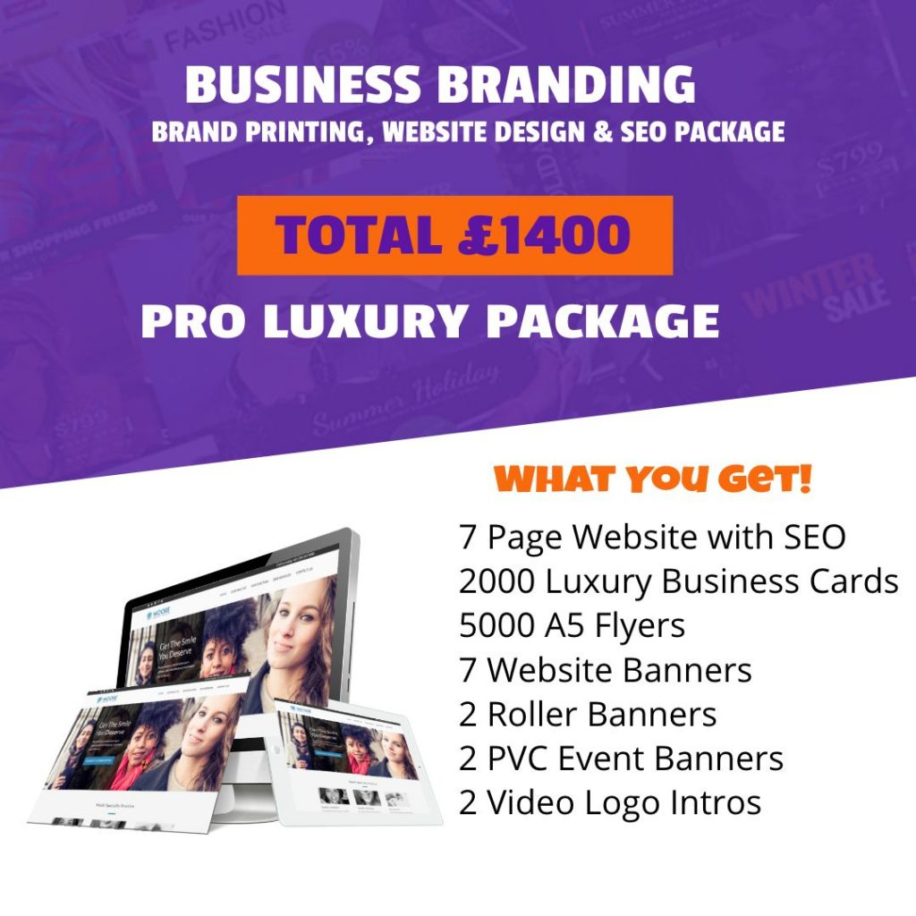 Pro Luxury Branding Package