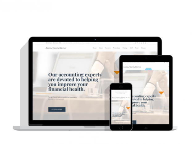 Web Design Wolverhampton, Dudley, Birmingham - Accountancy Business Demo Website