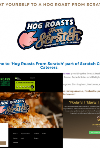 Scratch Cooking Caterers - Hog Roasts From Scratch - Case Study Image
